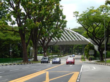 シンガポール2016.1サザンリッジズ・アレキサンダーブリッジ