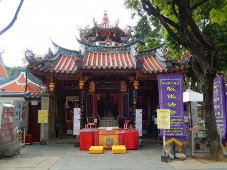 シンガポール2016.1ティアンホッケン寺院