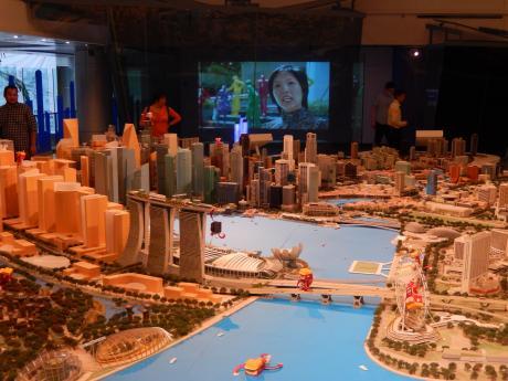 シンガポール2016.1シティーギャラリー