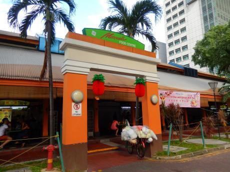 シンガポール2016.1マックスウェルフードセンター