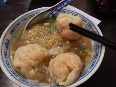 香港2016.3ワンタン麺