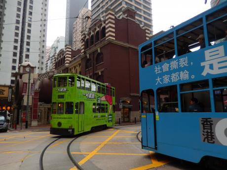香港2016.3二階建てトラム