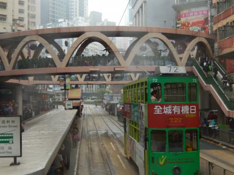 香港2016.3香港島トラム