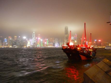 香港2016.3香港夜景