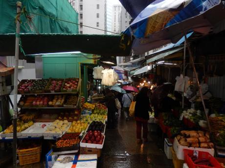 香港2016.3香港街市