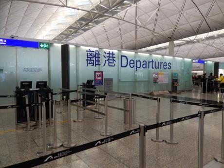 香港2016.3香港空港