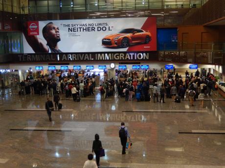 シンガポール2016.3チャンギ空港