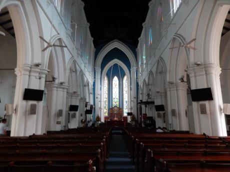 シンガポール2016.3シティー・セントアンドリュース教会