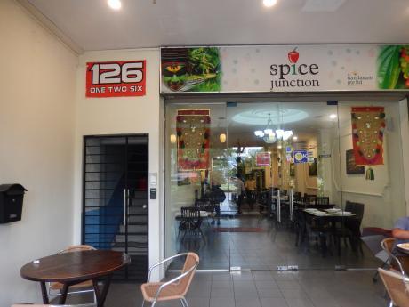 シンガポール2016.3リトルインディア・インディアンレストラン