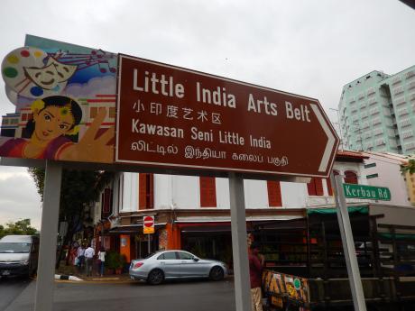 シンガポール2016.3リトルインディア