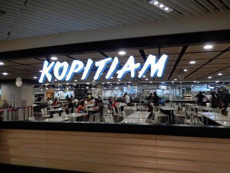 シンガポール2016.3チャンギ空港フードコート