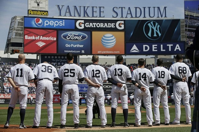 New york Yankees 20160712