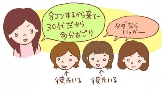 【ケチ】女子、合コンで3000円請求され唖然 → 総額3750円で750円しかおごられてない事実に激怒