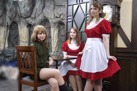 全員ロシア美女のメイドカフェが本日開店!レベルの高さが異常