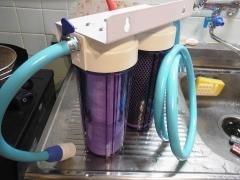 浄水器取付2