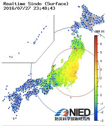 茨城強震モニター