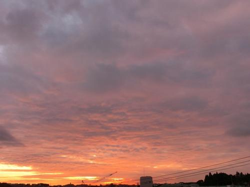 秋の夕暮れ2