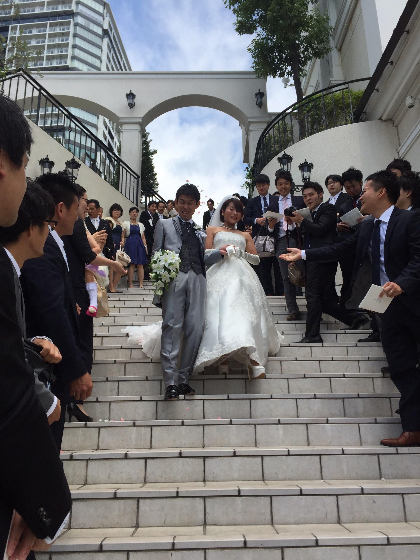 新城キャップ結婚式 _3