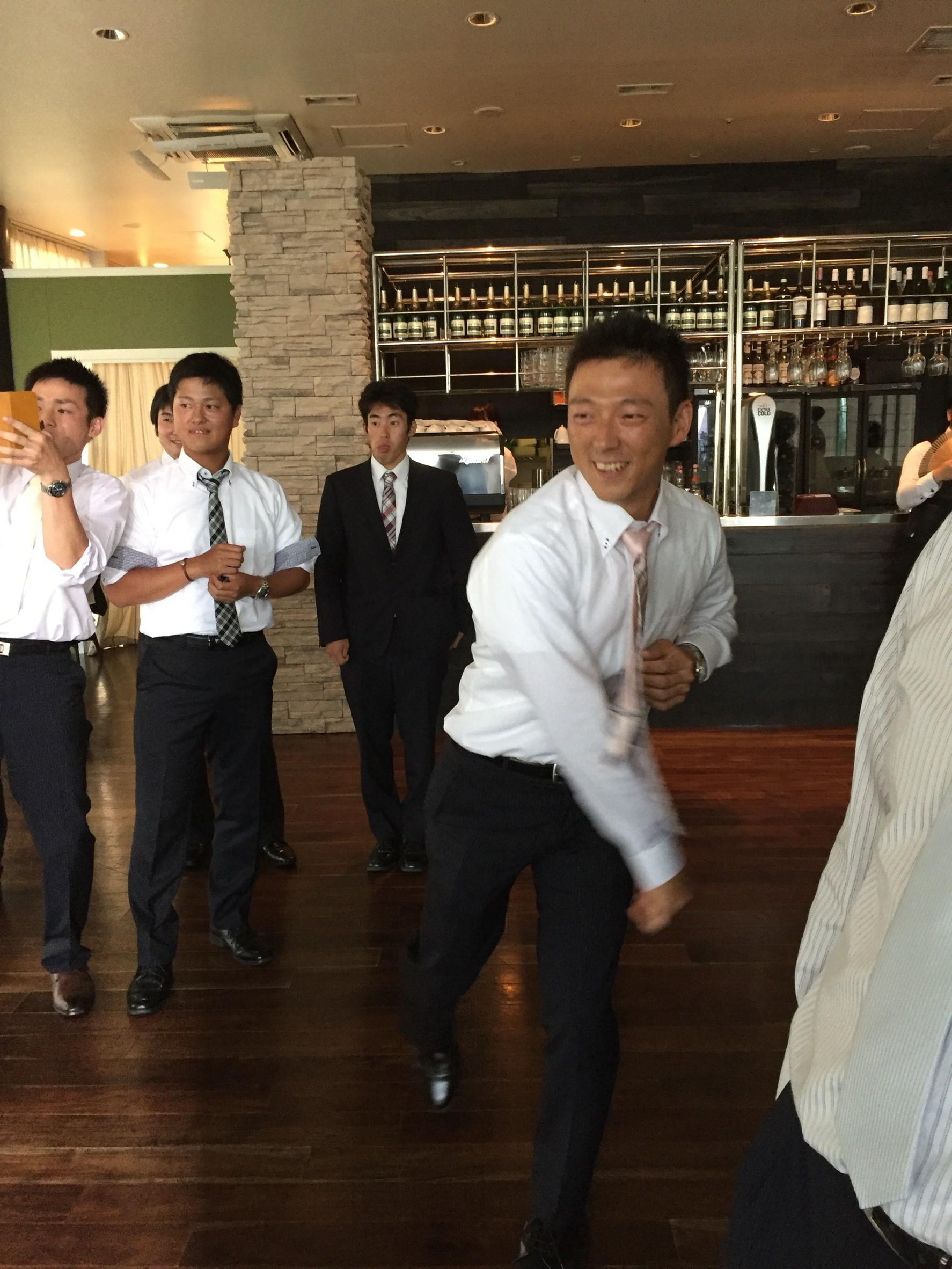 新城キャップ結婚式 _8