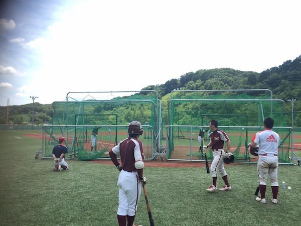 20160710 対駿河台大学_9705試合前練習