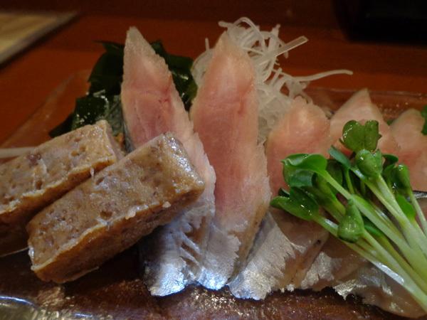 秋刀魚(サンマ)のルイベ