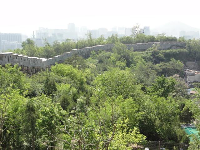 2016年5月18日 仁王山近く ソウル城郭2