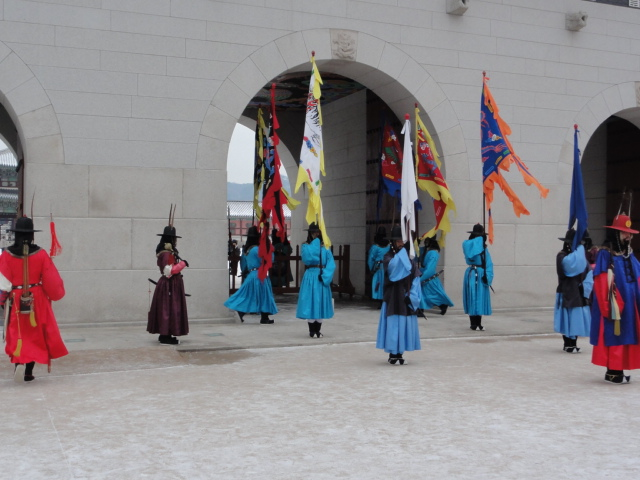 2012年12月7日撮影 景福宮 交代式