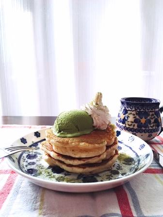 まっちゃパンケーキ