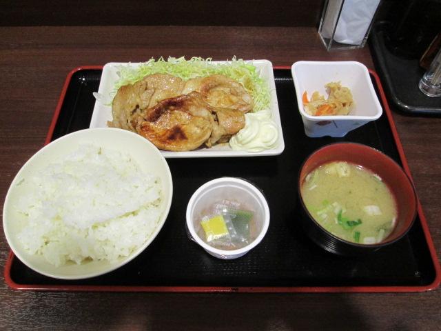 生姜焼き 004