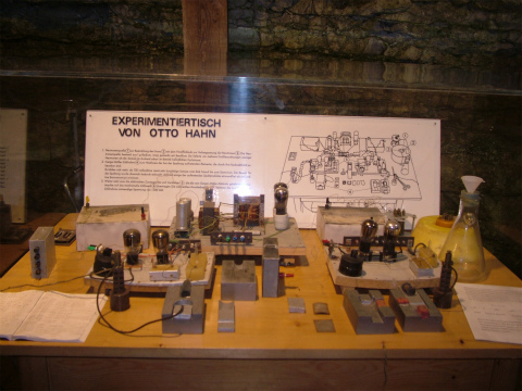 オットーハーンの実験卓