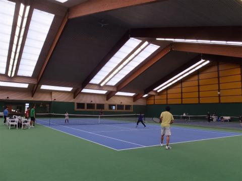 Kemnatのテニスコート