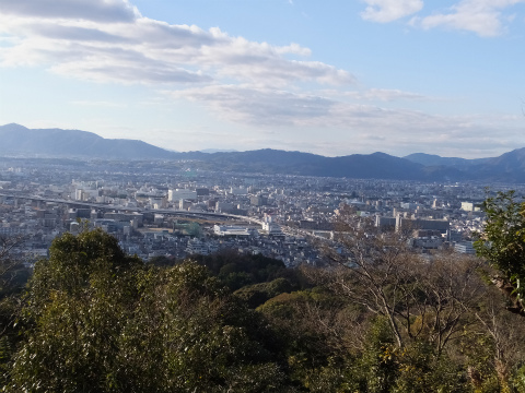 京都市一望
