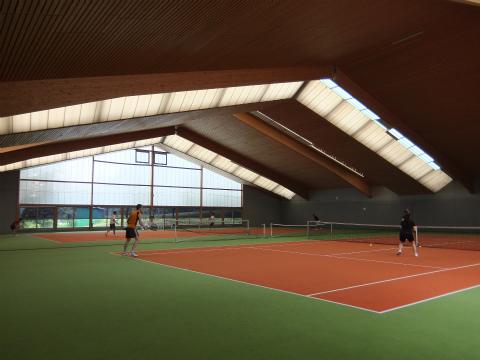 Fellbachのテニスコート