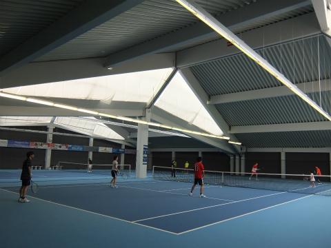 Aichwaldのテニスコート