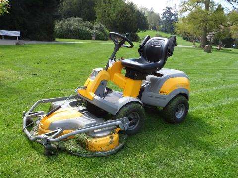 ホンダの芝刈り機