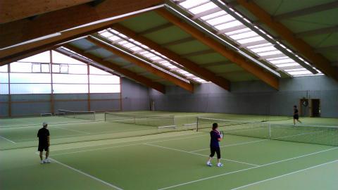 Musbergのテニスコート