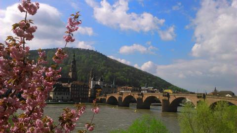 Heidelbergの橋