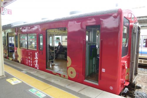 NHK大河ドラマ 「真田丸」のラッピング列車 2016 4月(mt.okuho)