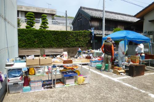 黒江便り 軒下蚤の市 2016 5 22 (mt.okuho)