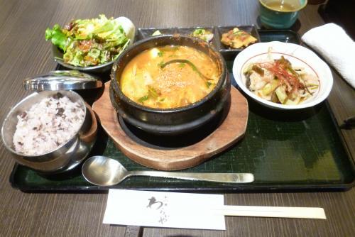 ランチ 和韓食 わらいや 2016 5 23 (mt.okuho)