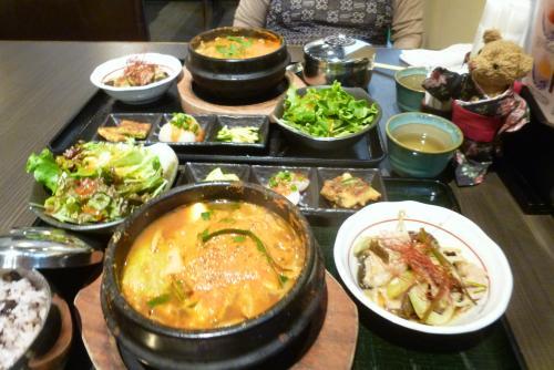 ランチ 和韓食 わらいや 2016、 5 23 (mt.okuho)