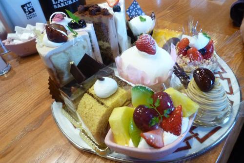 ティータイム SAKURA COFFEE さん 2016 5 24 (mt.okuho)