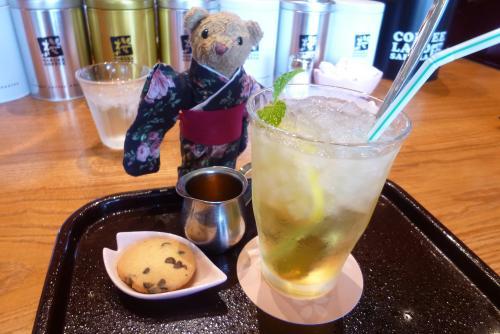 ティータイム SAKURA COFFEE さん ベァー 2016 5 24 (mt.okuho)