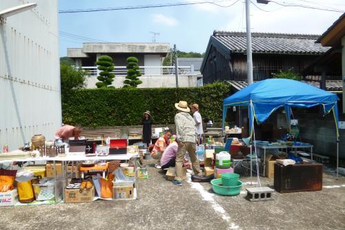 黒江便り 軒下蚤の市 2016 6 26 (mt.okuho)