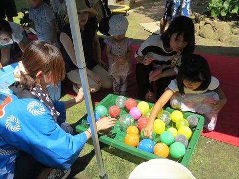 夏祭り2016・ヨーヨーつり
