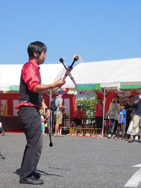 夏祭り2016・大道芸2