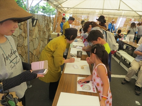 夏祭り2016・和菓子体験