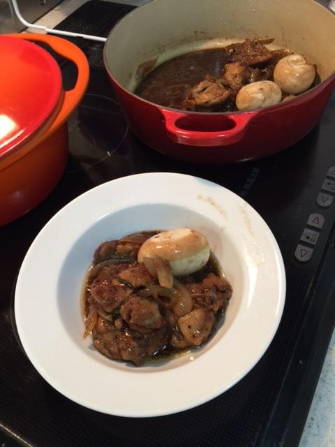 平成28年05月29日鶏肉のバルサミコ煮