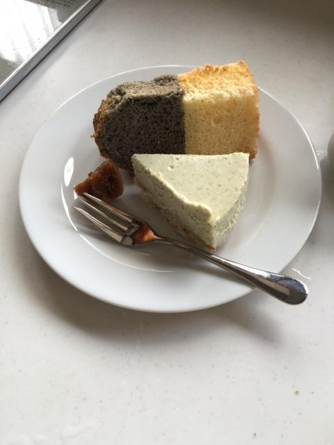 平成28年08月19日青じそチーズケーキ盛り合わせ