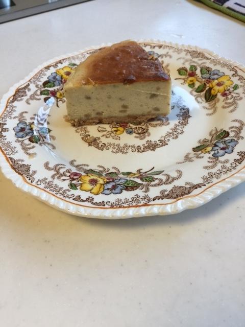 平成28年09月23日栗のチーズケーキ